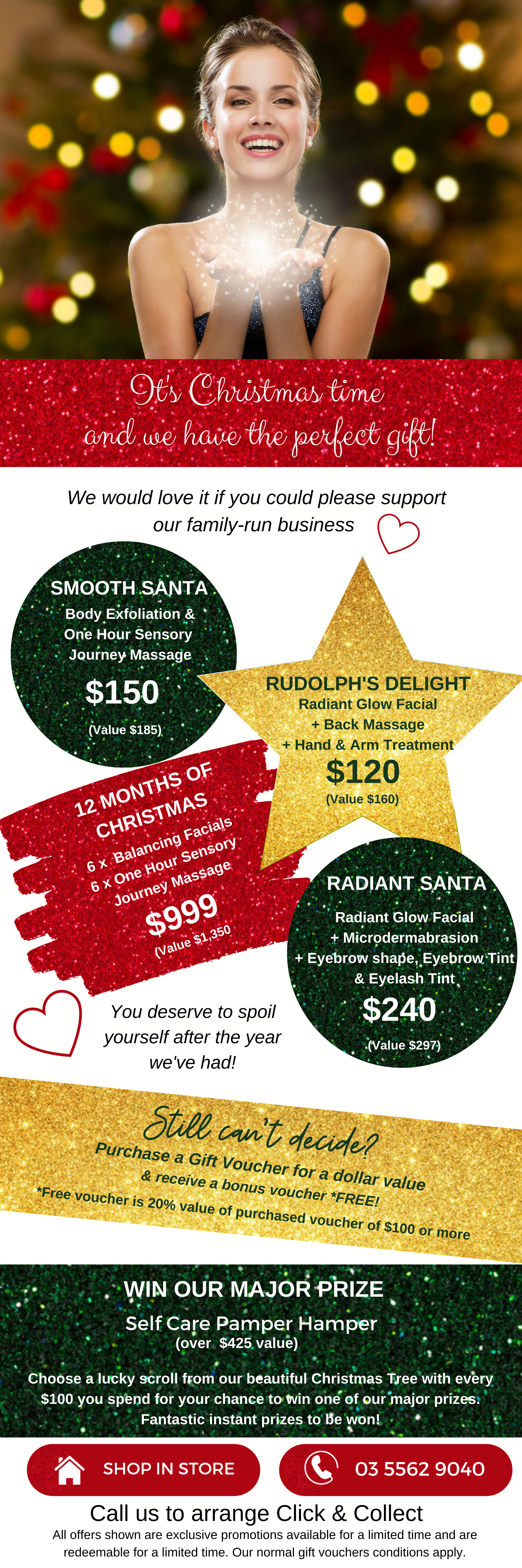 Landing page It's Christmas time and we have the perfect gift!